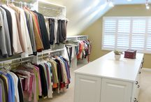 Dream Closet / Sex and the City style closets you dream about! From massive walk-in Dream Closets to adorable reach-in little girl closets. And don't forget the guys -- men's closets for the handsome man in your household!