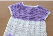 Newborn dress crochet