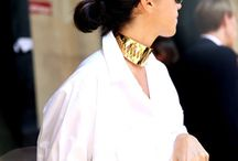 Street Style / Annelise Michelson Jewelry Paris - in street snapshots.