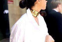 Street Style / Annelise Michelson Jewelry Paris - in street snapshots.
