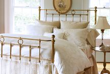 Brass bed