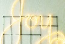 Christmas LED Rope Light / LED Rope Light is flexible and easy to configure into different shapes and designs. Here are some interesting ways to use your LED rope light this holiday season! / by 1000Bulbs.com