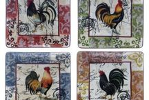 chicken theme kitchen / by Meleah Wilson
