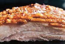 Crispy roasted pork bell
