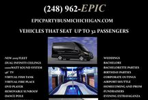 Epic Party Bus / Pictures of our brand new 2015 fleet of party buses.