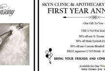 Special Offers / Current Special Offers Available at SKYN Clinic & Apothecary