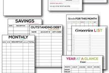 Finances & Organization / by Dianne Hinojosa