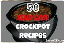 Crockpot eats / by Allison Gent