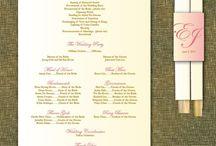 Events - Invitations, Programs & Guest Books / by Diana Villabon-Perez