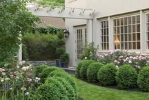 landscape and outdoor rooms / by Anne Williams