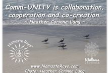 Namaste Rays #WUVIP Comm-UNITY / Posts, blogs and more by and from fellow members of www.thewellnessuniverse.com