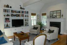 39 Long Hill Farm, Guilford CT 06437 For Sale $439,000 / $439,000 Beautifully appointed free-standing condo with custom details.  Windows galore to let the sunlight in, custom built-ins in the living room and hallway. Vented gas fireplace in the living room.