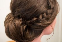 Hairstyles / Beautiful hairstyles for special event