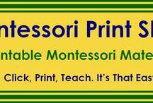 Montessori / Montessori materials