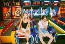 arcade photoshoot
