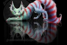Inspiration sheet: Cheshire cat