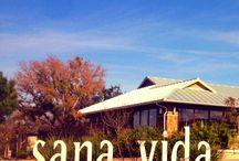 Sana Vida Spa and Wellness Center / Yoga, acupuncture, massage therapy, organic tea.