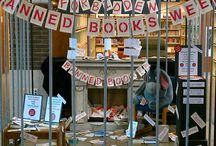 LIBRARY: Book Display Ideas / by Erin Bradley