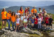 Summer Fun at Vermont Resorts / Spring, summer and fall fun in Vermont's ski and snowboard resorts, including adventure parks, camps, mountain biking, hiking, golf and more / by All Mountain Mamas