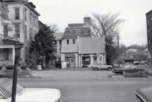 Vintage Pictures of The Bread Basket Bakery Building / Old pictures of our bakery building.  It was originally a gas station and then a fish market.  You can see this style of building in many other areas of the country...