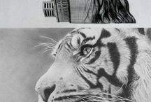 Karakalem çizimler