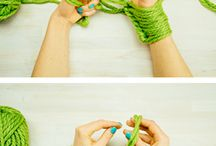 knitting/arm knitting
