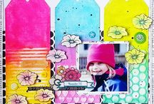 Inspired By- Artful Scrapbooking