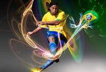 Sporter in actie / Voetballer in actie