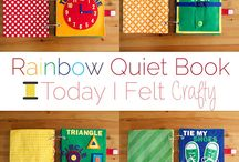 Quiet books and felt crafts