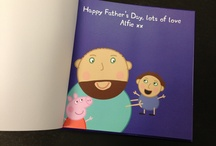 Daddy Pig / Become the star of your own personalised Peppa Pig Book with our personalised version of 'My Daddy'. Your little ones can join you as you step into the world of Peppa Pig.