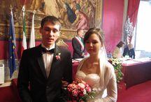 Ivan+Irina's Wedding in Florence. / Palazzo Vecchio, Sala Rossa