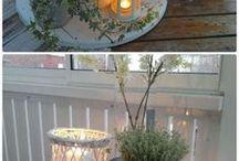 BALKON / Ciekawe pomysły na urządzenie niedużego balkonu.