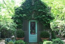shed ideas / by TerriAnn Ford