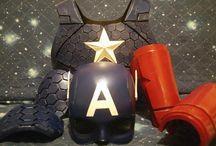 Mask adn Helmet / Mask and Helmet film and anime
