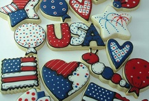 ~4th of July Cookies~