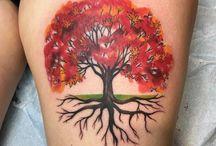 syksy tatuointi