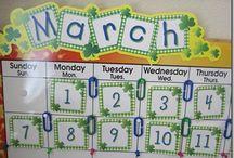 School - Calendar and Walls
