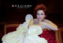 Carmen Giannattasio wears Antonio Riva