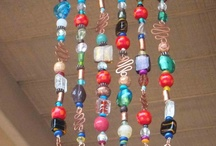 Hangings Beads Shells Glass
