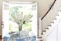 Entryways and Nooks / Pretty entryways and cozy nook decorating ideas