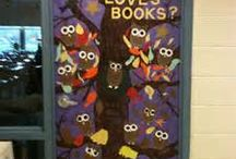 Bulletin Boards- Library Decor / by Caralee Johnson
