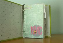 Albums & Layouts / Scrapbook Layouts, Album, Journal & Smash book ideas. / by Kimberly Wood
