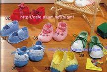 Sapatinhos de Bebê em Tecido