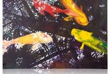 Koi Painting / Paintings of Wesslee.
