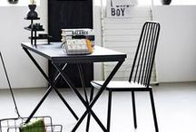 INSPIRED | Monochrome Home / Because sometimes things really are as black and white as they seem!