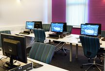 EKC - Gaming and ICT Academy / Complete refurbishment and fit out of new hi-tech ICT facilities at the Dover Campus of East Kent College.