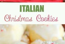 Italian biscuits and cookies