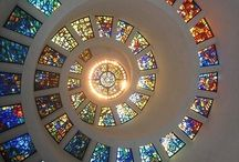 stained glass windows / by Carole Minery Lauderbaugh