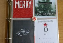 December Daily / a daily memory-keeping project in the month of December