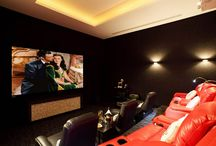 Home Theaters / A collection of pictures of stunning home theaters.
